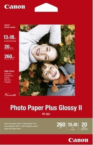 Fotopapier Canon PP-201, 20 Blatt, 275 g/m2, 13 x 18 cm