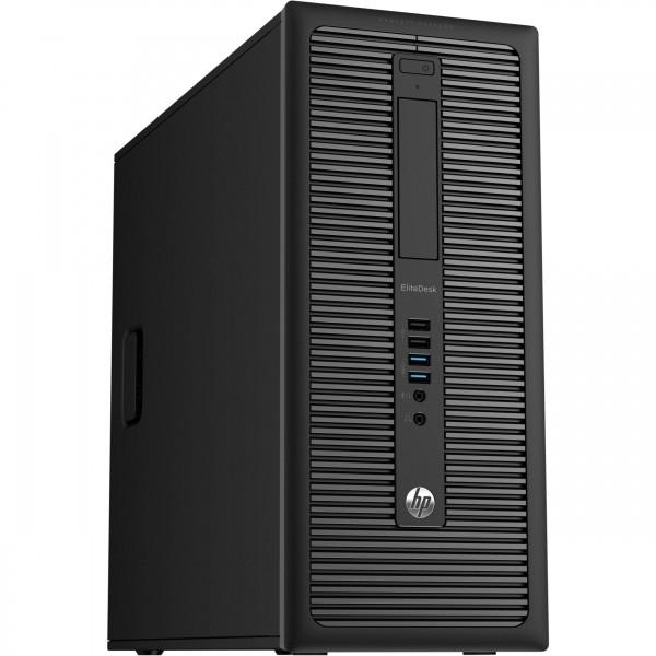 HP EliteDesk 800 G1 CMT Core i7-4.0 / 16 GB / 500 SSD / DVD-RW / Win10 / Occasion