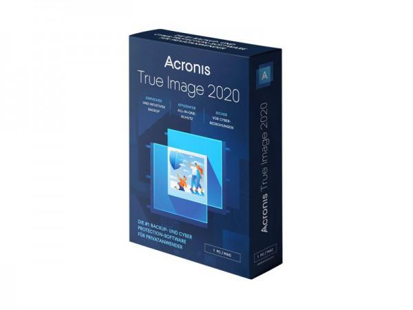 Acronis True Image Standard 2020, Lizenz für 1 PC