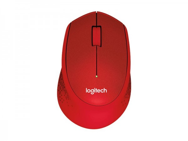 Logitech Wireless Mouse M330 Silent Plus, rot