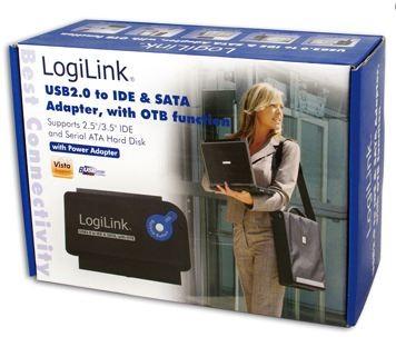 USB 2.0 Adapterkabel für S-ATA und IDE Harddisks