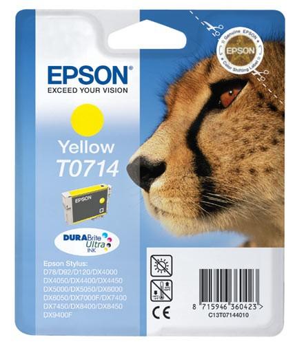EPSON Tinte gelb T0714 für DX4000 und andere