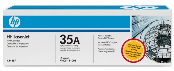 HP Tonermodul CB435A (für Laserjet P1005 / P1006)