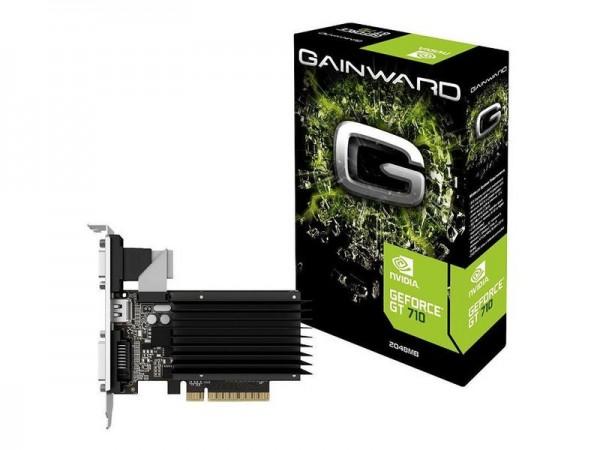 Gigabyte nVidia GT710 - 2048 MB - PCIe - DVI - HDMI - VGA
