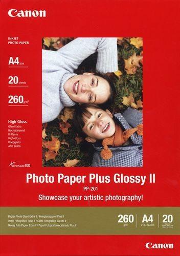 Fotopapier Canon PP-201, 20 Blatt, 275 g/m2, A4