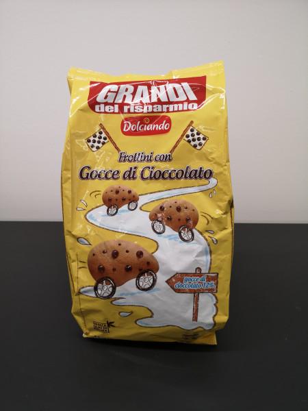 Dolciando Frollini con Gocce di Cioccolato, 1 kg