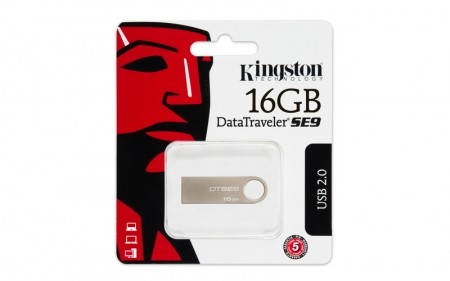 Kingston DataTraveler SE9 - DTSE9H/16GB - USB Drive 16 GB