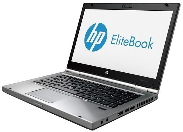 "HP Elitebook 8470p Core i5 3.5 / 4 GB / 180 SSD / DVD-RW / 14"" / Win10 / Occasion"