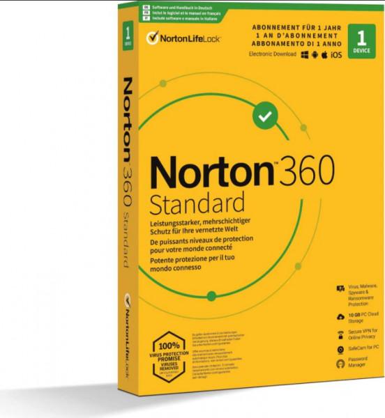 Norton 360 Standard für 1 Gerät, 12 Monate