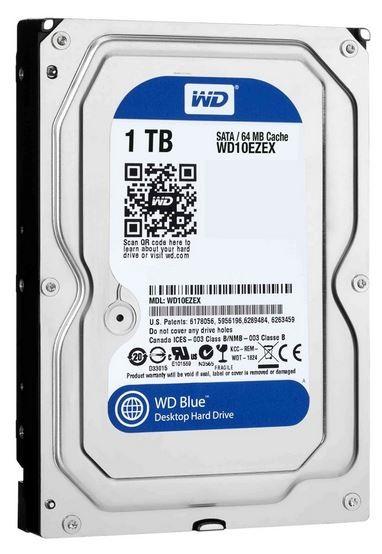 Harddisk S-ATA 1 TB, Western Digital WD10EZEX