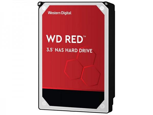 Harddisk S-ATA 6 TB Western Digital W60EFAX, RED für NAS