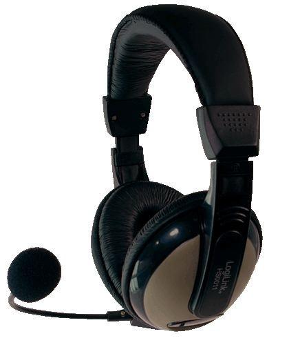 Kopfhörer mit Mikrofon (Headset), Logilink HS0011A
