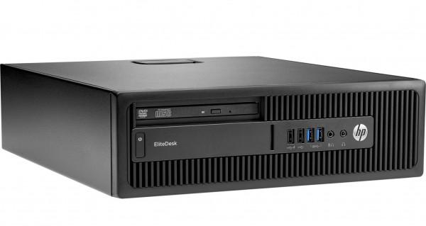 HP EliteDesk 800 G1 SFF Core i7-3.9 / 8 GB / 256 SSD / Win10 / Occasion