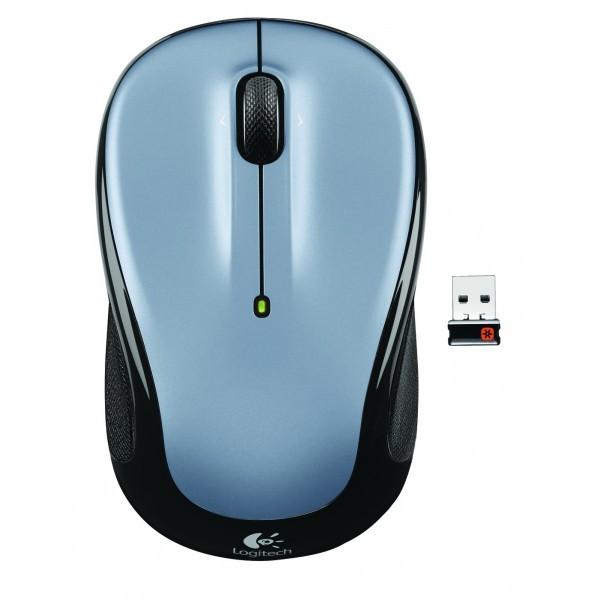 Logitech Wireless Mouse M325 light silver