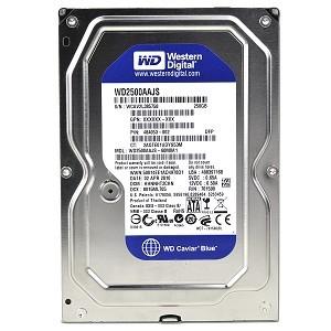 Harddisk S-ATA 160 GB, Occasion