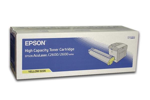 EPSON Toner C13S050226, gelb, für EPSON AcuLaser C2600 Serie