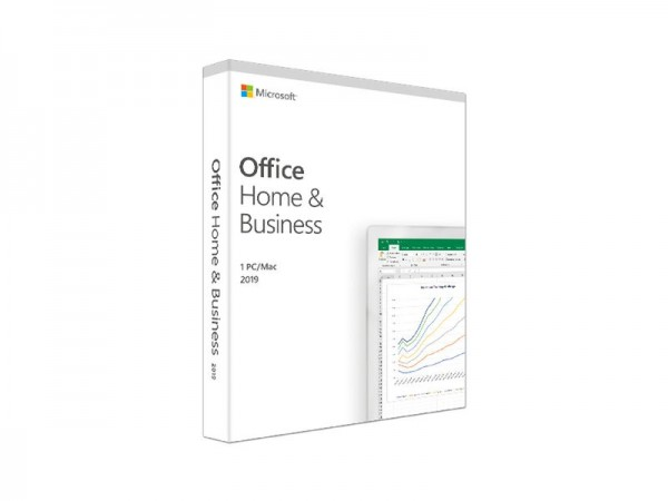 Microsoft Office 2019 Home & Business, Vollversion, deutsch, PKC, 1 PC
