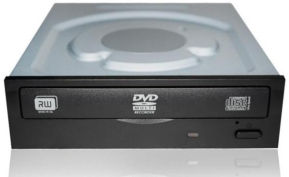 DVD-Brenner DVD+/-RW 24x S-ATA, schwarz