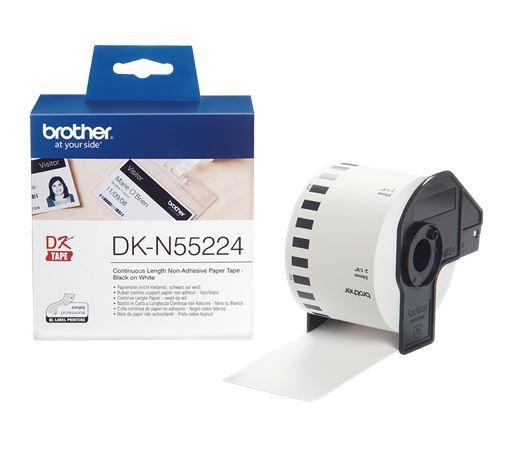 Brother DK-N55224 Endlospapier-Rolle, nicht klebend