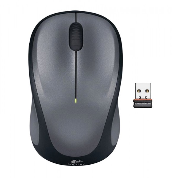 Logitech Wireless Mouse M235, grau