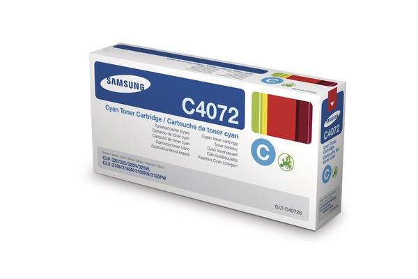 Samsung Tonermodul CLT-C4072S, cyan
