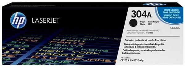 HP Tonermodul CC530A schwarz für CP2025 / CM2320 - 3500 Seiten