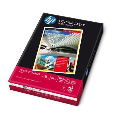 Farblaserpapier, weiss, 250 Blatt, A4, 120 g/m2, HP