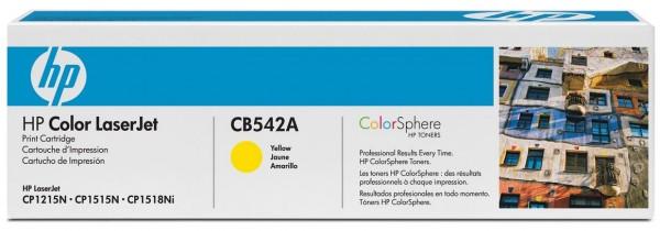 HP Tonermodul CB542A yellow für CP1215 / CP1515N / CP1518Ni
