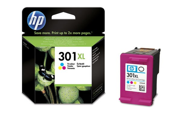 HP Patrone No. 301 XL Color (CH564EE)