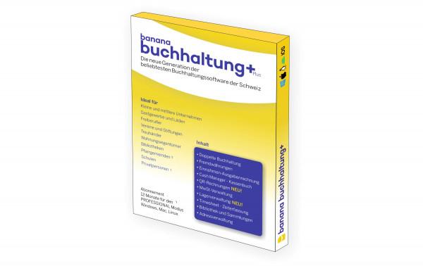 Buchhaltung Plus Professional Box, Abo, 1 Jahr, Deutsch