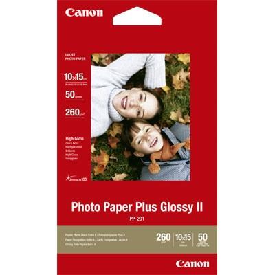 Fotopapier Canon PP-201, 50 Blatt, 275 g/m2, 10 x 15 cm