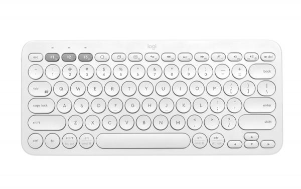 Logitech Bluetooth-Tastatur K380 Multi-Device, weiss