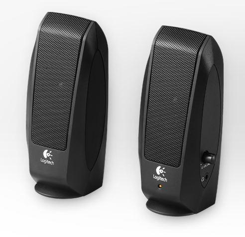 Logitech Lautsprechersystem S-120, schwarz