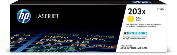 HP Tonermodul CF542X gelb