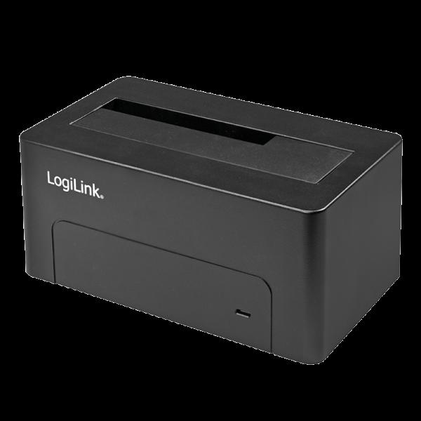USB 3.0 SATA Docking für S-ATA Harddisks (2.5 und 3.5 Zoll), Logilink