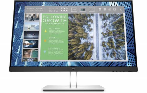 """24"""" Display HP E24q G4 mit QHD und USB-Hub"""
