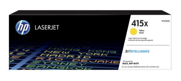 HP Tonermodul CF415X - gelb - 6000 Seiten (W2032X)