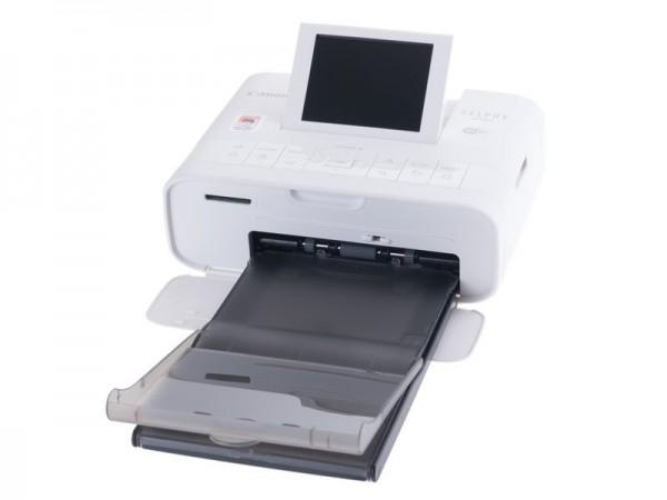 Canon SELPHY CP1300 Fotodrucker mit Display, WLAN, weiss