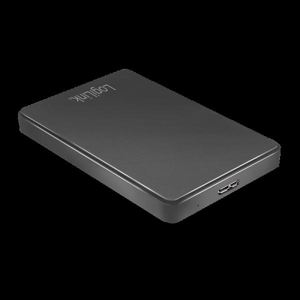 """USB 3.0 Gehäuse für 2.5"""" Harddisks SATA, Logilink"""