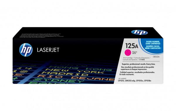HP Tonermodul CB543A magenta für CP1215 / CP1515N / CP1518Ni
