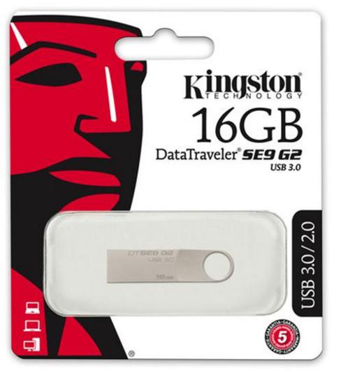 Kingston DataTraveler SE9 G2 USB 3.0 - USB Drive 16 GB