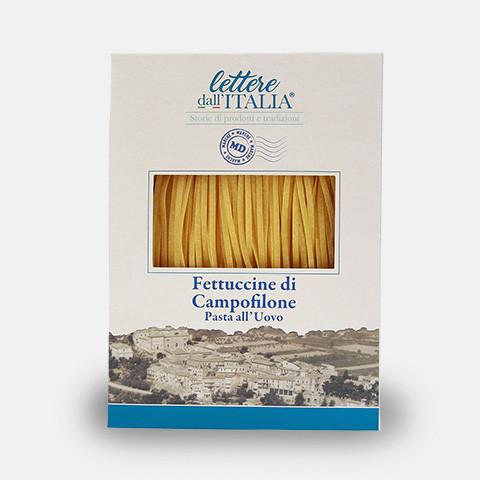 Fettuccine di Campofilone, 250 g, lettere dall'ITALIA