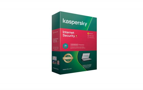 Kaspersky Internet Security, Lizenz für 2 PC (Vollversion)