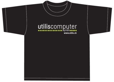 UTILIS T-Shirt V5.0, schwarz, Grösse XL