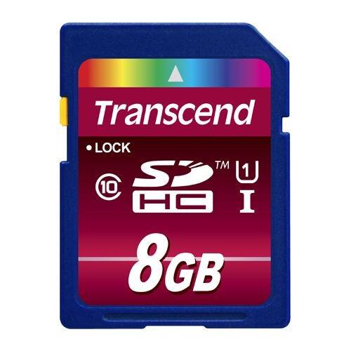 8 GB SD-Card Transcend TS8GSDHC10U1