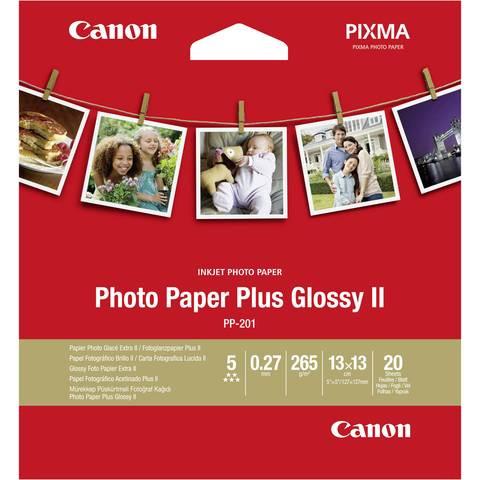 Fotopapier Canon PP-201, 20 Blatt, 265 g/m2, 13 x 13 (quadratisch)