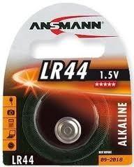 ANSMANN Alkaline Knopfzelle, LR44 / V13GA