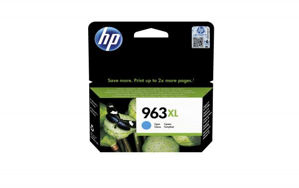 HP Patrone No. 963 XL cyan (3JA27AE)