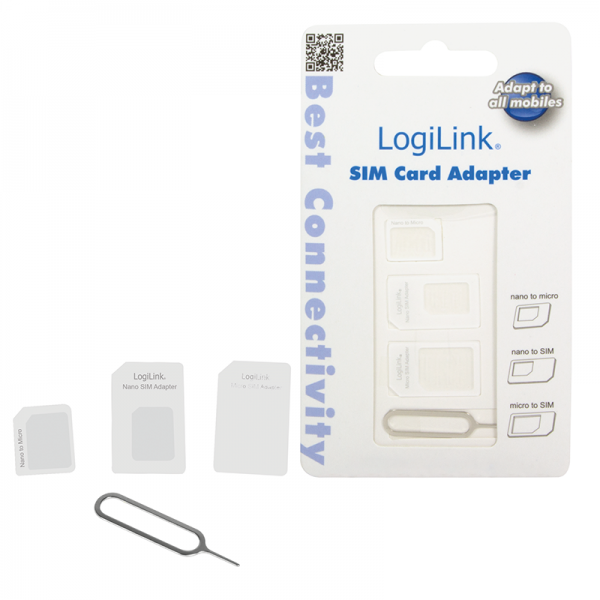 Logilink SIM-Karten Adapter-Set (nano / micro)