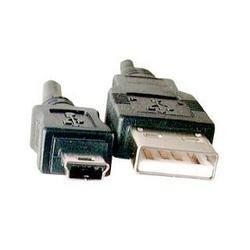 USB Kabel mit Ministecker 1.0 m schwarz